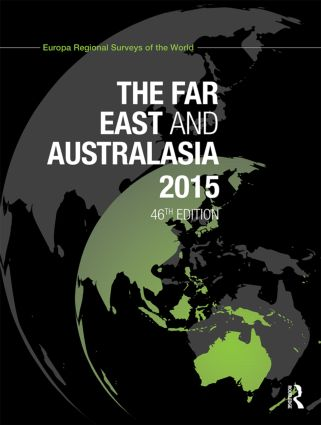 The Far East and Australasia 2015: 46th Edition (Hardback) book cover