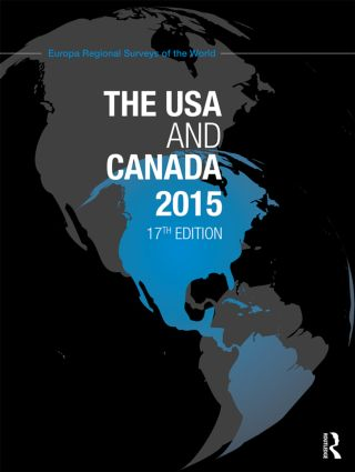 The USA and Canada 2015 book cover