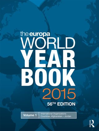 The Europa World Year Book 2015 book cover