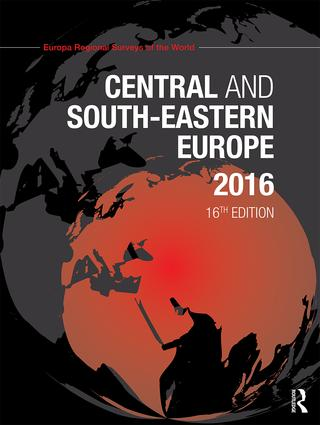 Central and South-Eastern Europe 2016 book cover