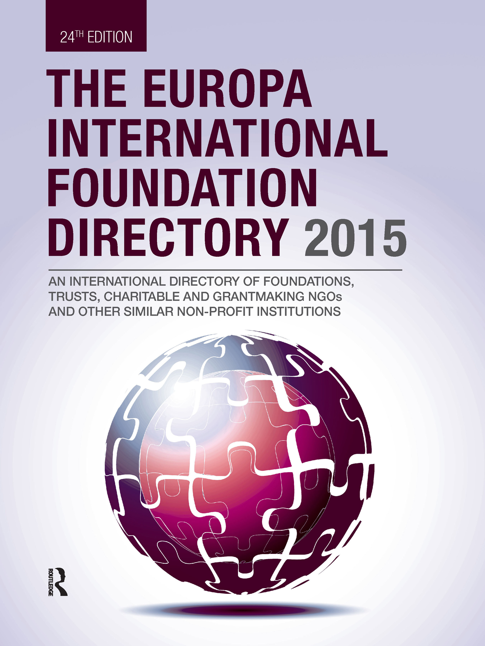 The Europa International Foundation Directory 2015 book cover
