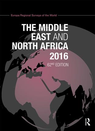The Middle East and North Africa 2016: 62nd Edition (Hardback) book cover