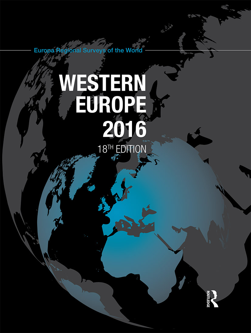 Western Europe 2016: 18th Edition (Hardback) book cover