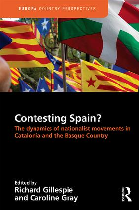 Contesting Spain? The Dynamics of Nationalist Movements in Catalonia and the Basque Country: 1st Edition (Hardback) book cover