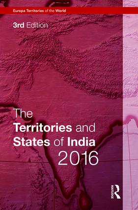 The Territories and States of India 2016 book cover