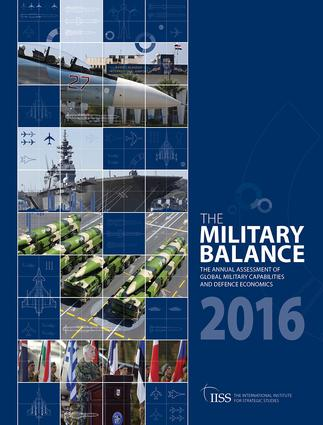 The Military Balance 2016 (Paperback) book cover