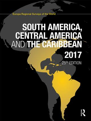 South America, Central America and the Caribbean 2017 book cover