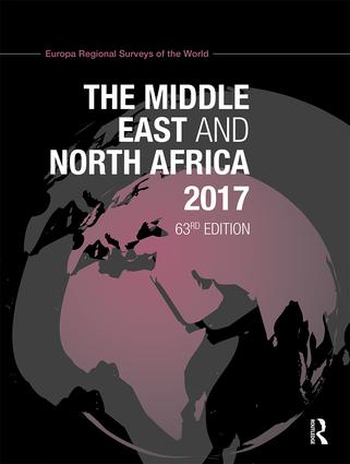 The Middle East and North Africa 2017: 63rd Edition (Hardback) book cover