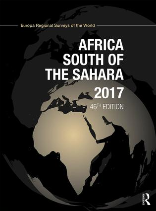 Africa South of the Sahara 2017: 46th Edition (Hardback) book cover