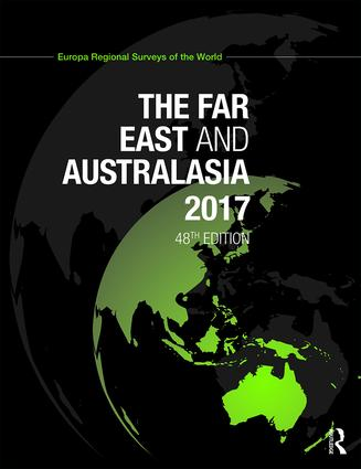 The Far East and Australasia 2017: 48th Edition (Hardback) book cover