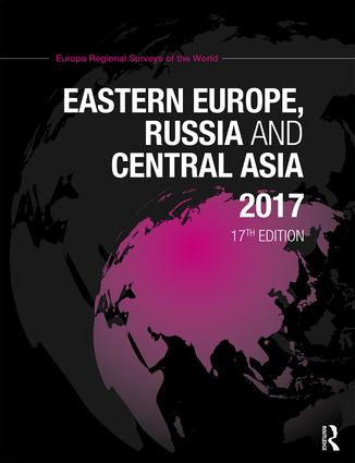 Eastern Europe, Russia and Central Asia 2017 book cover