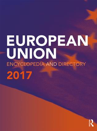 European Union Encyclopedia and Directory 2017 book cover