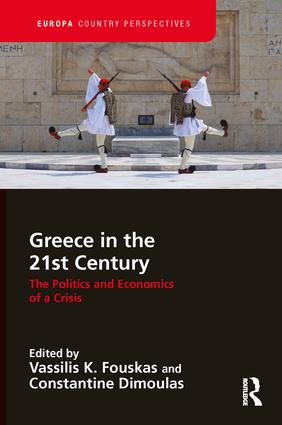 Greece in the 21st Century: The Politics and Economics of a Crisis book cover