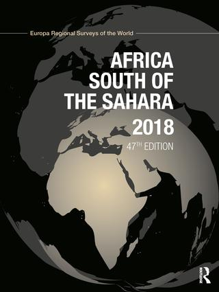 Africa South of the Sahara 2018 book cover