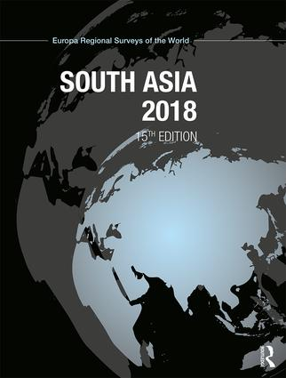 South Asia 2018 book cover