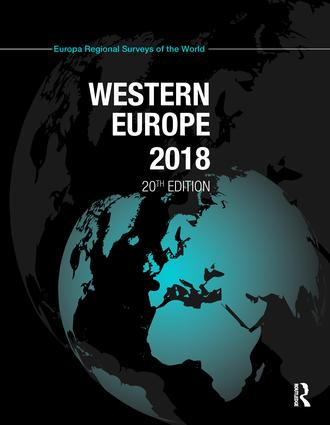 Western Europe 2018: 20th Edition (Hardback) book cover