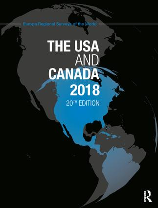 The USA and Canada 2018: 20th Edition (Hardback) book cover