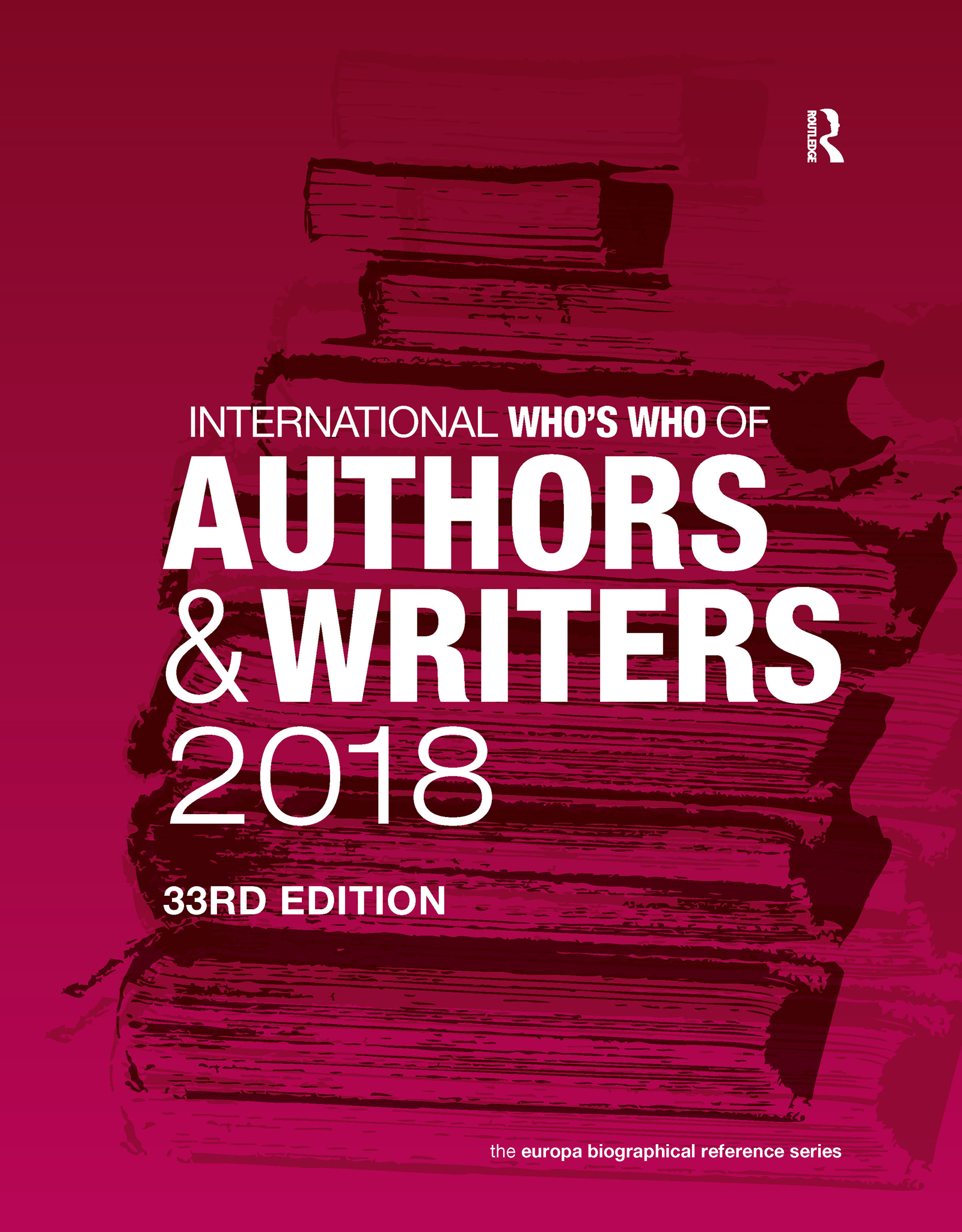 International Who's Who of Authors and Writers 2018 book cover