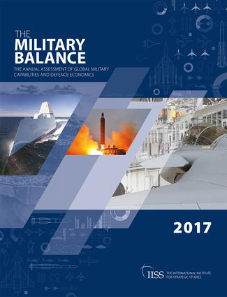 The Military Balance 2017 book cover