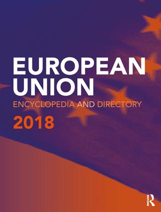 European Union Encyclopedia and Directory 2018 book cover