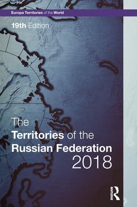 The Territories of the Russian Federation 2018 book cover