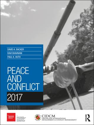 Peace and Conflict 2017 (Paperback) book cover