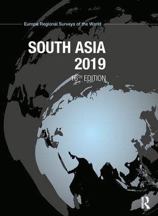 South Asia 2019: 16th Edition (Hardback) book cover