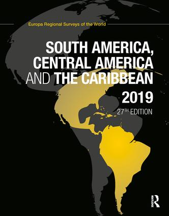 South America, Central America and the Caribbean 2019 book cover