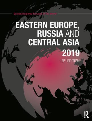 Eastern Europe, Russia and Central Asia 2019 book cover