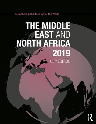 The Middle East and North Africa 2019 book cover