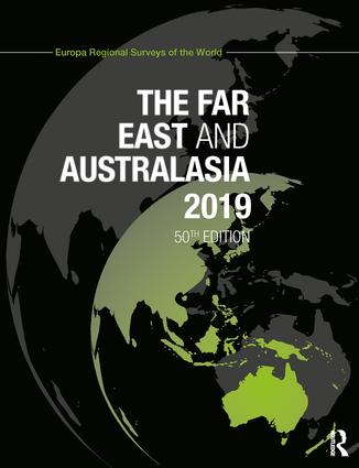 The Far East and Australasia 2019 book cover