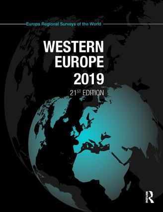 Western Europe 2019: 21st Edition (Hardback) book cover