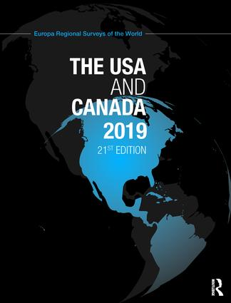 The USA and Canada 2019 book cover