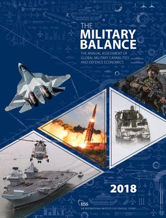 The Military Balance 2018 (Paperback) book cover