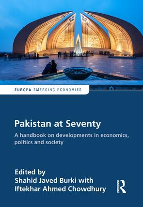 Pakistan at Seventy: A handbook on developments in economics, politics and society book cover