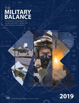 The Military Balance 2019 book cover