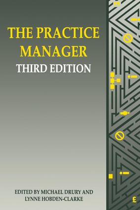 The Practice Manager: 3rd Edition (Paperback) book cover