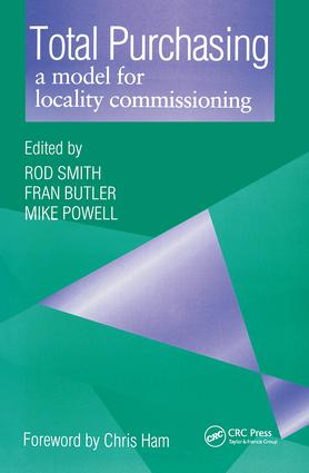 Total Purchasing: A Model for Locality Commissioning, 1st Edition (Paperback) book cover