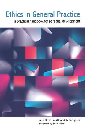 Ethics in General Practice: A Practical Handbook for Personal Development, 1st Edition (Paperback) book cover