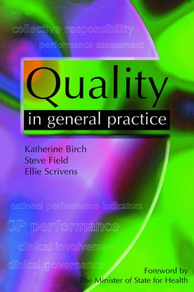 Quality in General Practice: 1st Edition (Paperback) book cover