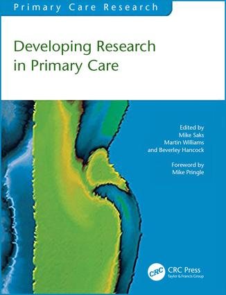 Developing Research in Primary Care: 1st Edition (Paperback) book cover