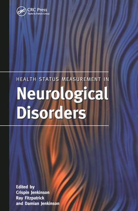 Health Status Measurement in Neurological Disorders book cover