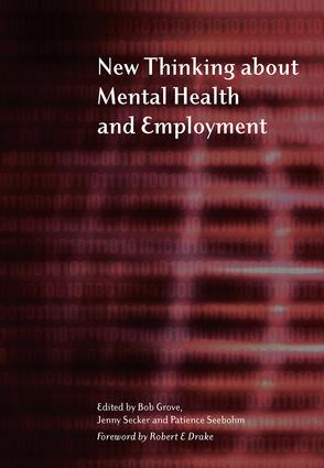 New Thinking About Mental Health and Employment: 1st Edition (Paperback) book cover