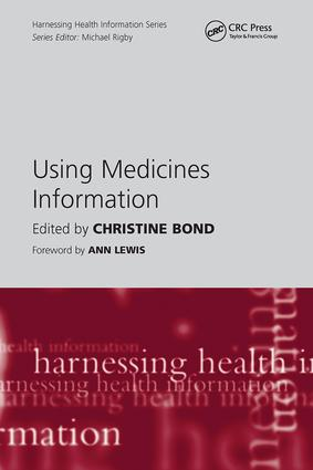Using Medicines Information: 1st Edition (Paperback) book cover