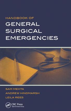 Handbook of General Surgical Emergencies: 1st Edition (Paperback) book cover