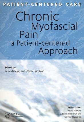 Chronic Myofascial Pain: A Patient-Centered Approach, 1st Edition (Paperback) book cover