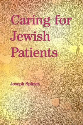 Caring for Jewish Patients: 1st Edition (Paperback) book cover