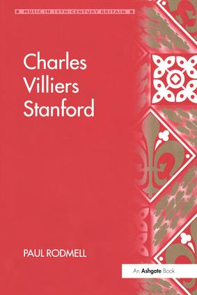 Charles Villiers Stanford book cover