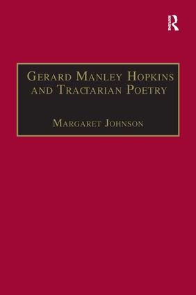 Gerard Manley Hopkins and Tractarian Poetry: 1st Edition (Hardback) book cover