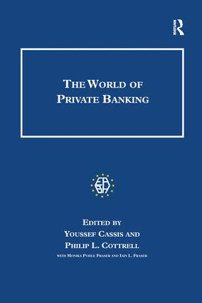 The World of Private Banking: 1st Edition (Hardback) book cover